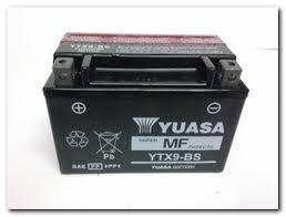 BATERIA YUASA YTX9-BS VESPA LX 50/125 SELLADA