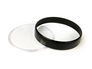 Cristal+Cerco Negro Km Vespa Iris/px Transparente