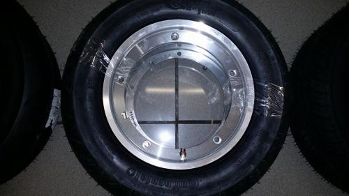 Montaje Llanta Tubular Unidad