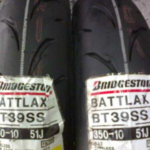 Cubierta 350x10 Bridgestone Batlax BT39ss Ycy 51J